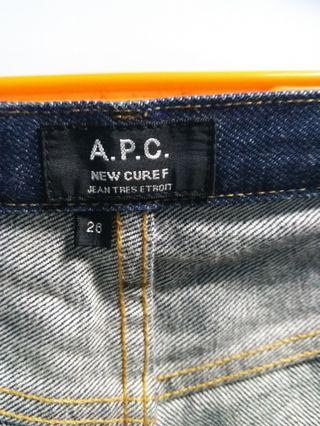 APC jeans new cure