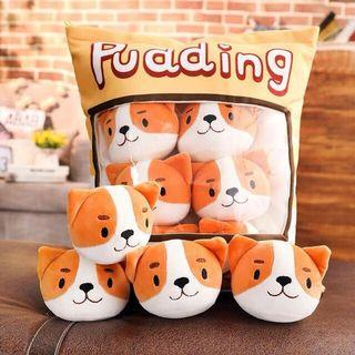 Cute Lovely pillow included 8 pcs soft toy