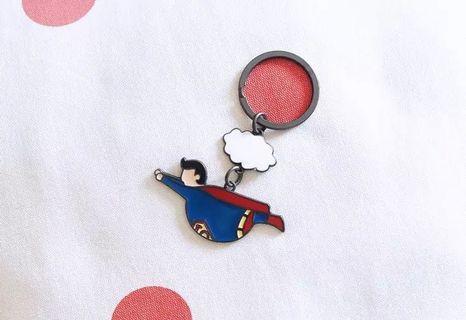 超Q胖版超人鑰匙圈 super man