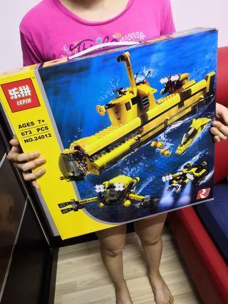 Lepin 24012 underwater explorer ocean odyssey lego building blocks