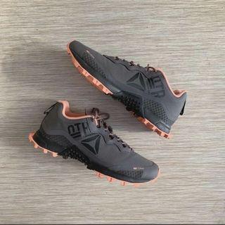 Reebok All-Terrain Craze Trail Shoes - Pink/Gray (Spartan Race, Obstacle Course Race, etc)