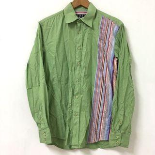 🚚 ELLE綠襯衫