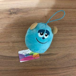 Monster Inc Sully soft toy keychain