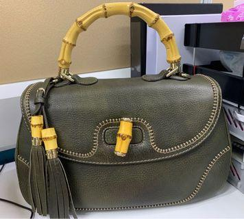 🚚 Gucci Bamboo Large Top Handle Bag