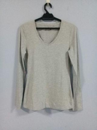 V Neck Long Sleeve Top Tshirt  #OYOHOTEL