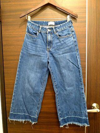🚚 寬版牛仔褲