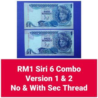 JanJun RM1 6th Combo A Siri 6 Security Duit Lama