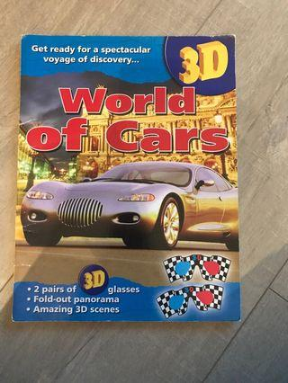 World of cars 3D book