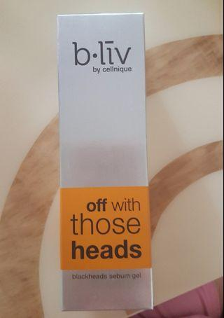 Bliv Off With Those Heads Blackheads Sebum Gel 45ml