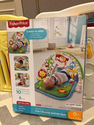 Fisher price 3 in 1 activity gym