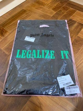 Palm angels Legalize it black tee