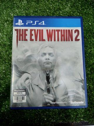 Kaset BD PlayStation 4 PS4 The Evil Within 2