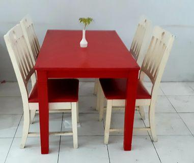 Dining Table Set (Used)