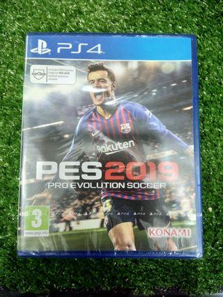 Kaset BD PlayStation 4 PS4 PES 2019