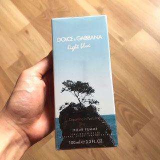 New Dolce and Gabbana (D&G) Light Blue EDT Perfume