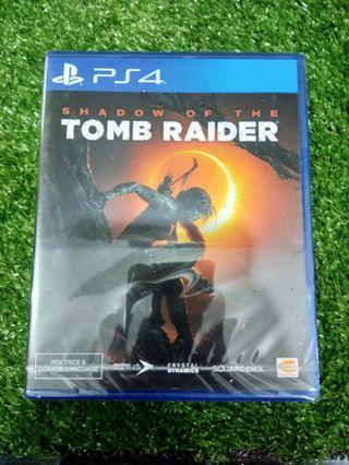 Kaset BD PlayStation 4 PS4 Shadow Of The Tomb Raider Kondisi Baru