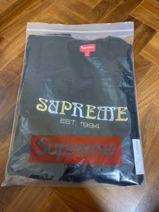 Supreme Nouveu black tee