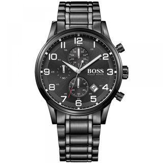 🚚 Hugo Boss Men's Aeroliner Chronograph Watch 1513180