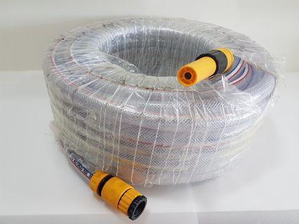 PVC Flexible Net Garden Hose ~ Heavy Duty Type ~ 30m