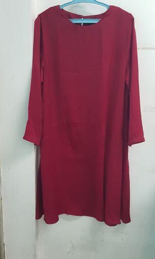 Zalora red dress