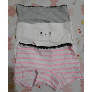 H&M 3PCS SET OF BOYLEG UNDIES