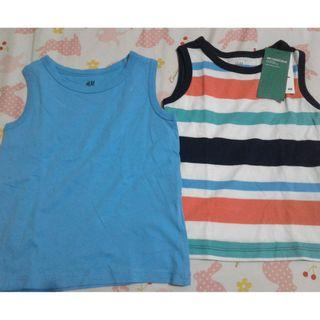 H&M 2PCS SET COTTON SANDO