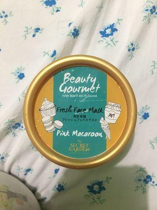 Beauty Gourmet Fresh Face Mask Pink Macaroon