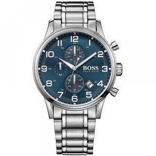🚚 Hugo Boss Men's Aeroliner Chronograph Watch 1513183