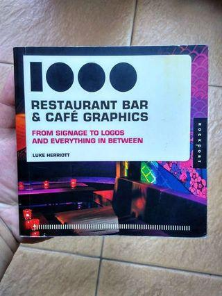 1000 Restaurant Bar & Cafe Graphic - From signage to logos and everything in between (Buku Graphic Design)