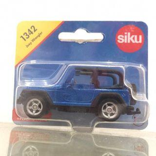 Diecast SIKU Jeep Wrangler