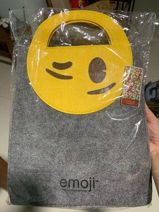 Emoji Smiley Tote Bag