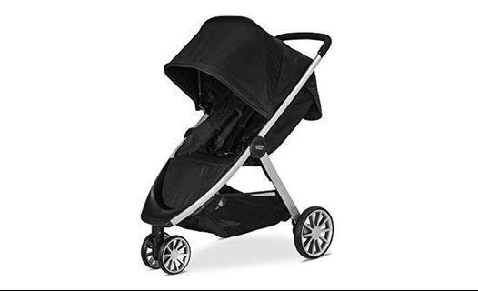 Britax B-lively lightweight stroller, Raven, from birth to 25kg