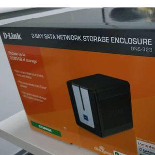 D-LINK SATA NETWORK STORAGE ENCLOSURE (NAS)