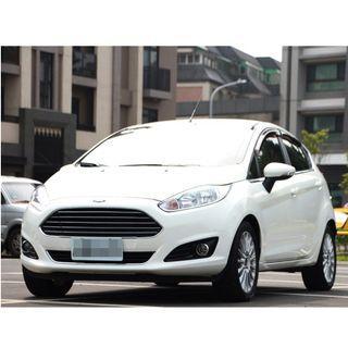 2014 Ford Fiesta 1.5 白  FB搜尋 : 『阿文の圓夢車坊』