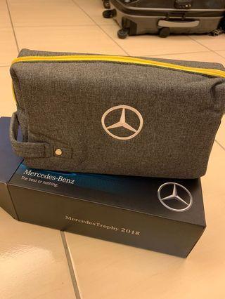 🚚 賓士Mercedes-Benz化妝包 手拿包 收納包