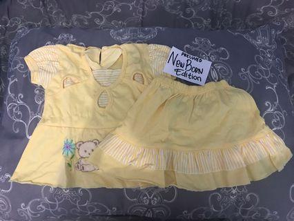 Baju setelan bayi 0-6 bln
