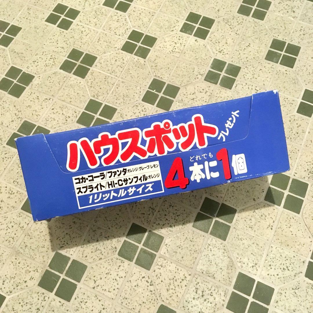 1983年日本可口可樂屋仔玻璃器皿
