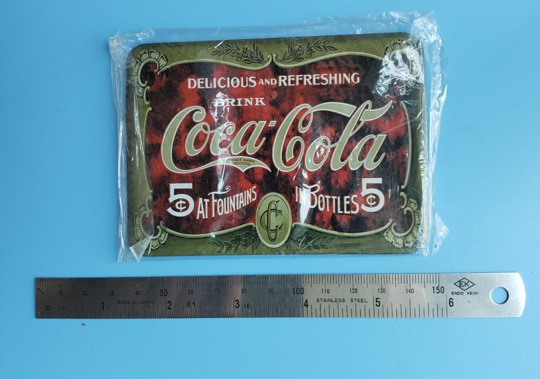 「可口可樂」小鐵牌
