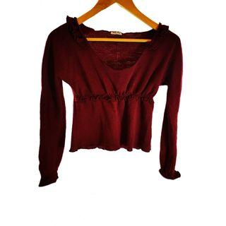 MIU MIU客什米亞羊毛上衣(古著二 手9.成新)
