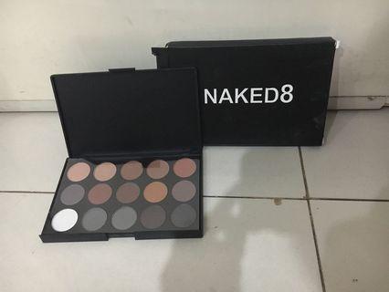Naked8 natural eyeshadow