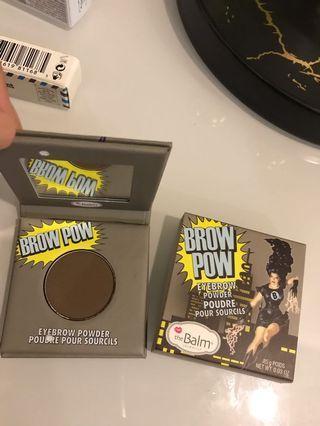 The balm Eyebrow powder