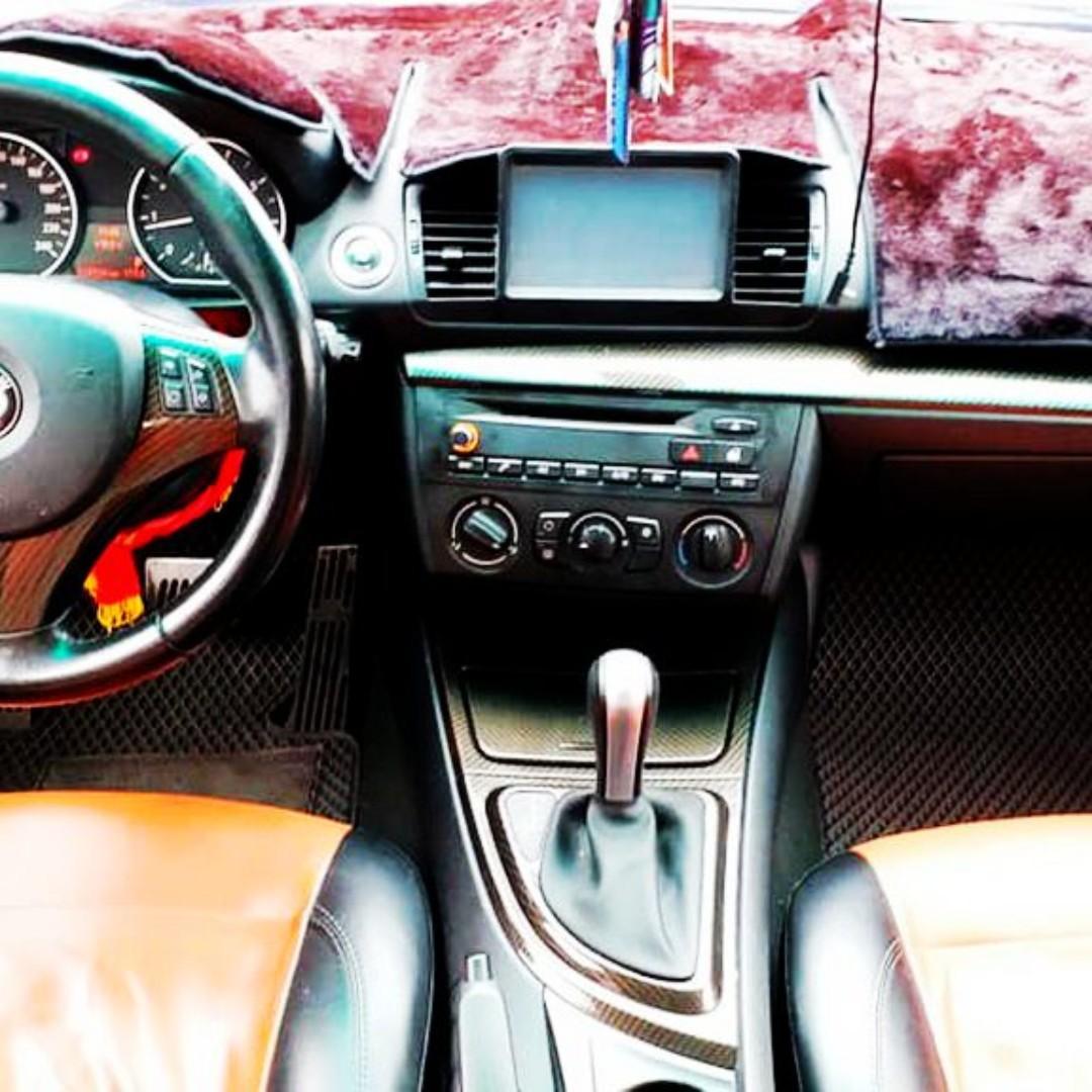 2006年型頂級120i.全車空力套件.橘黑內裝.魚眼頭燈.該改的都改好了