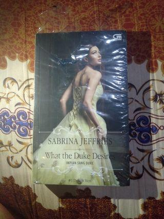 What the Duke desires- Sabrina Jeffries
