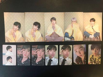 🚚 ( wtt / wts ) bts mots persona photocards and postcards