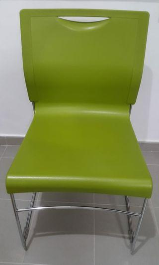 PVC Stainless Steel Chair