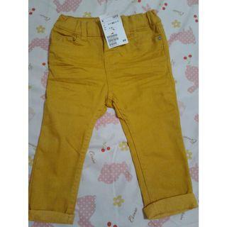 H&M Mustard Yelllow Skinny  pants