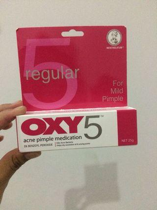 OXY 5 Acne Pimple MEDICATION