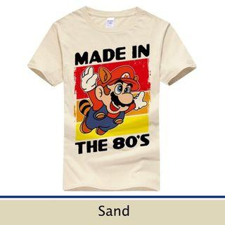 [PO] Unisex Super Mario Made In The 80's T-Shirt