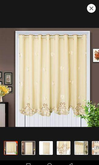 Korean styles half door curtain