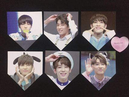 WTS Seventeen Wonwoo Fansite Garland Photo